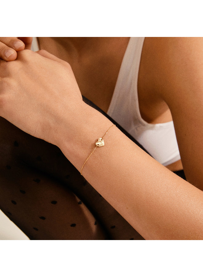 Sophia Hammered Bracelet