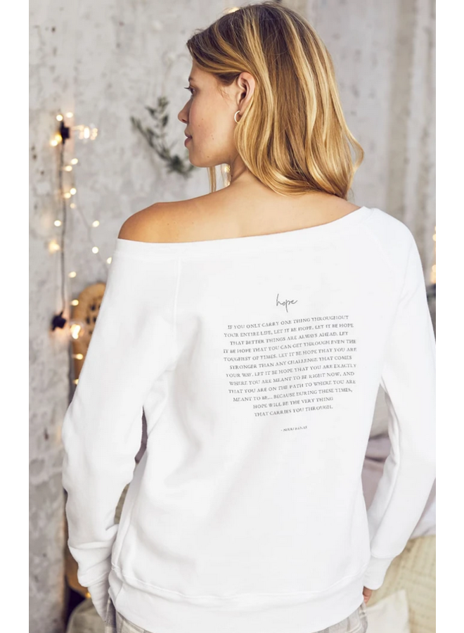 Hope Cozy Pullover