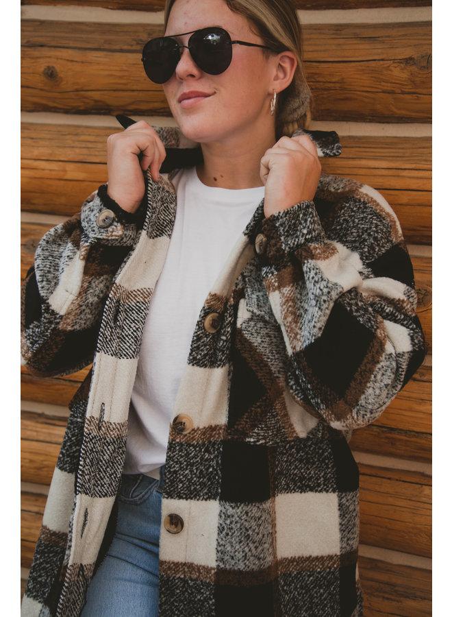Harper Woven Coat