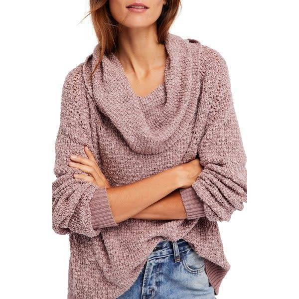 Free People By Your Side Sweater White Bull Clothing Co
