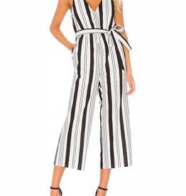 Mink Pink Stripe Linen Jumpsuit