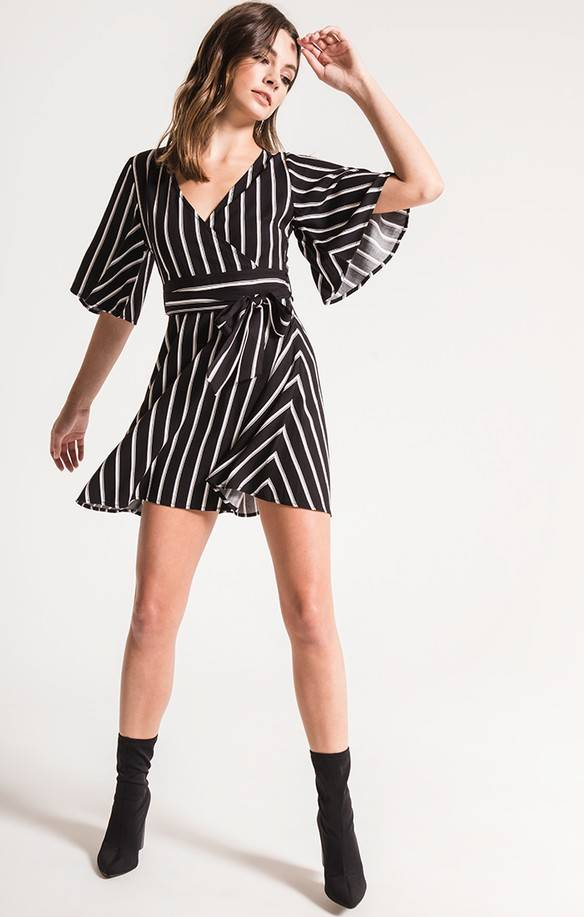 Black Swan Morgan Wrap Dress