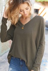 Olive Luxe Sweater Tunic