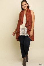 Rust Knit Vest