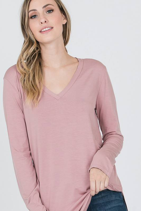 Essential Longsleeve Top-Available in 3 colors!