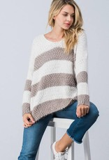 Taupe Over-Sized Sweater