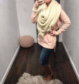 Mauve Soft Knit Sweater