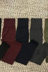 High-Waisted Fleece Lined Leggings
