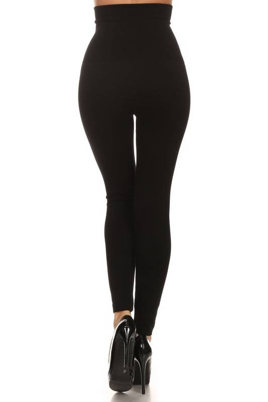 Black Tummy Control Legging