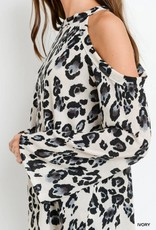 Ivory Leopard Top