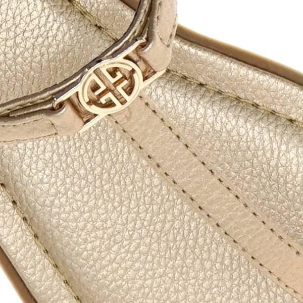 Rose Gold T Sandals