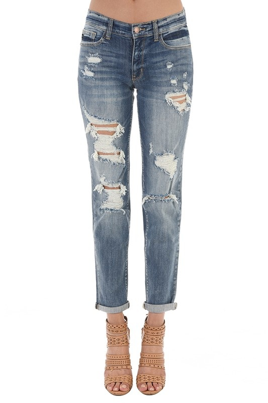 JB Light Boyfriend Jean