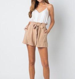 Mocha Paperbag Shorts