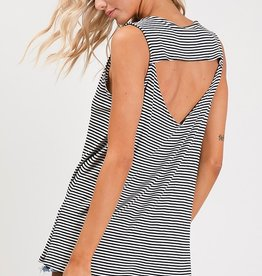 Striped Keyhole Tank