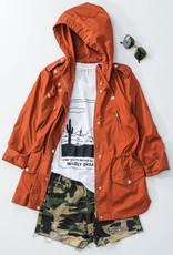 Rust Cargo Jacket