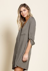 Army Woven Dress