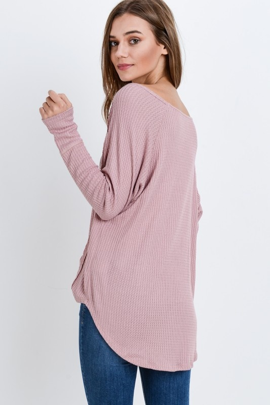 Oatmeal Thermal Top