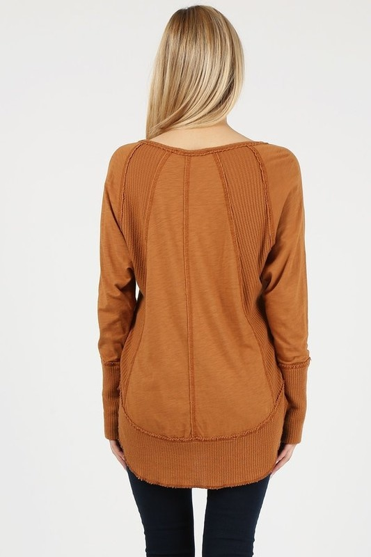 Curry Textured Top