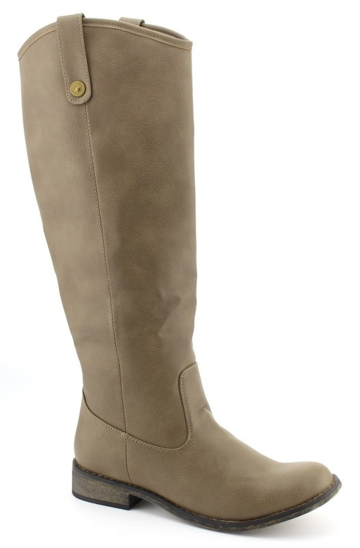 Taupe Rider Boot