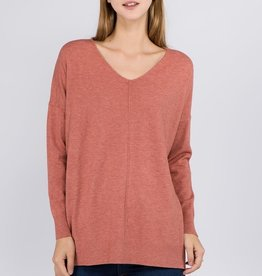 Heather Spice Soft Knit Sweater