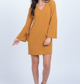 Mustard Shift Dress