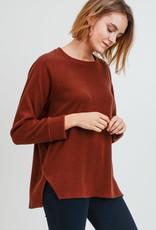 Rust Soft Sweater