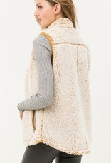 Oatmeal Sherpa Vest