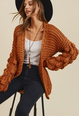 Spiced Ginger Cardigan