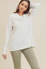 Ivory Turtleneck Top