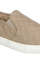 Taupe Quilted Sneakers