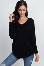 Black Soft Knit Sweater