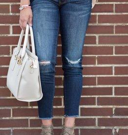 KC Frayed Ankle Skinny