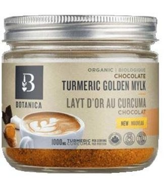 Botanica CHOCOLATE TURMERIC GOLDEN MYLK