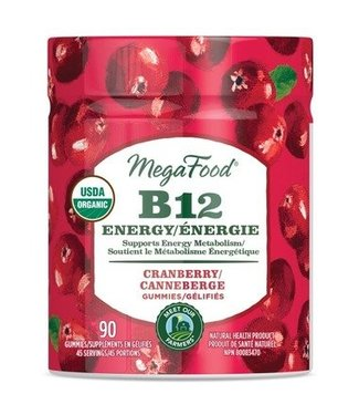 Mega Food B12 ENERGY GUMMIES (90)