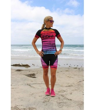 SMASHFEST WOMENS CYCLING JERSEY HORIZON