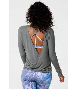 Onzie DRAPEY V BACK LONG SLEEVE