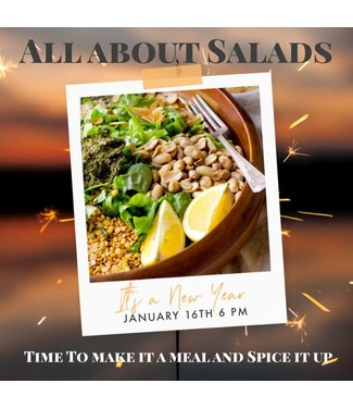 All About Salads - January 16th 6pm