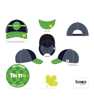 Boco Checkered Tri It Trucker