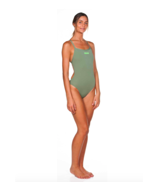 Arena SOLID LIGHTECH HIGH WOMEN'S SWIMSUIT