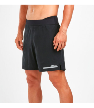 "2XU MENS RUN 2IN1 COMP 7"" SHORT"