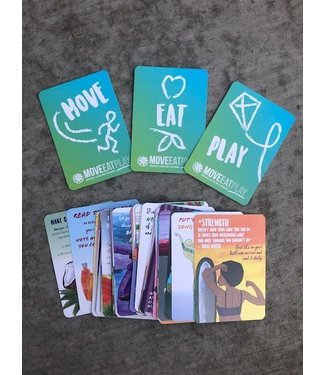 Move Eat Play MOVE, EAT, PLAY Inspirational Activity Cards