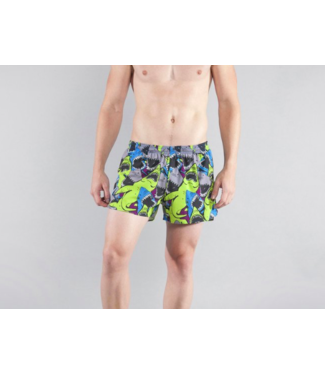 "Boa Men's 3"" Half Split Stretch Run Short"