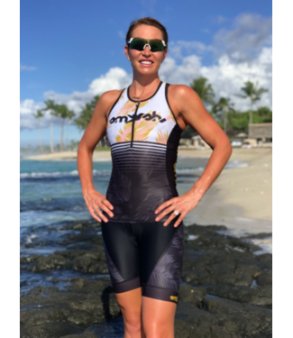 SMASHFEST WOMEN'S 1/4 ZIP TRI TOP