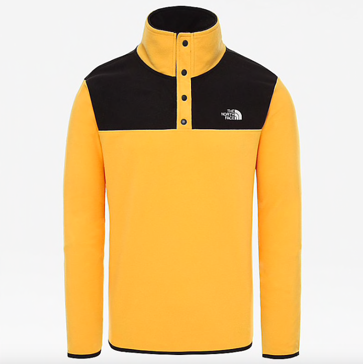 THE NORTH FACE The North Face Men's TKA Glacier Snap Neck Pullover