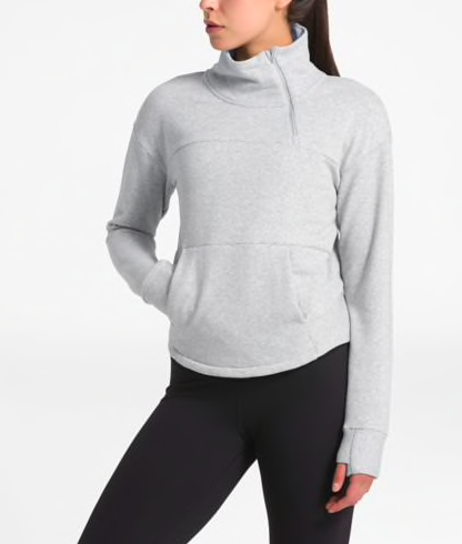 THE NORTH FACE WOMEN'S MOTIVATION FLEECE PULLOVER