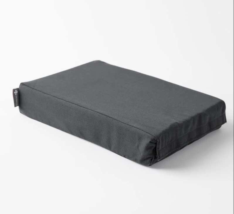 HalfMoon Chip Foam Yoga Block (w/ cover)