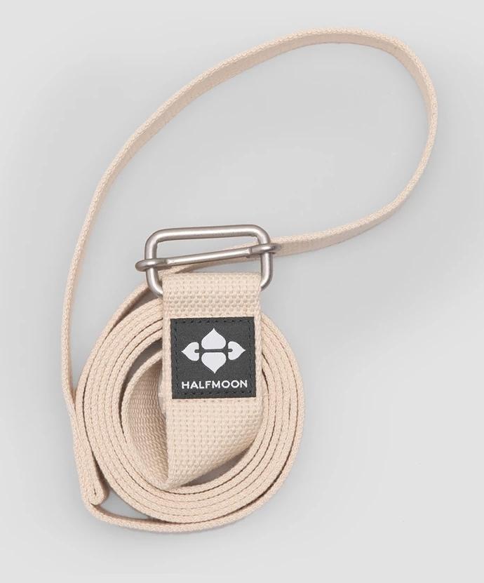 HalfMoon 8' Loop Organic Cotton Yoga Strap