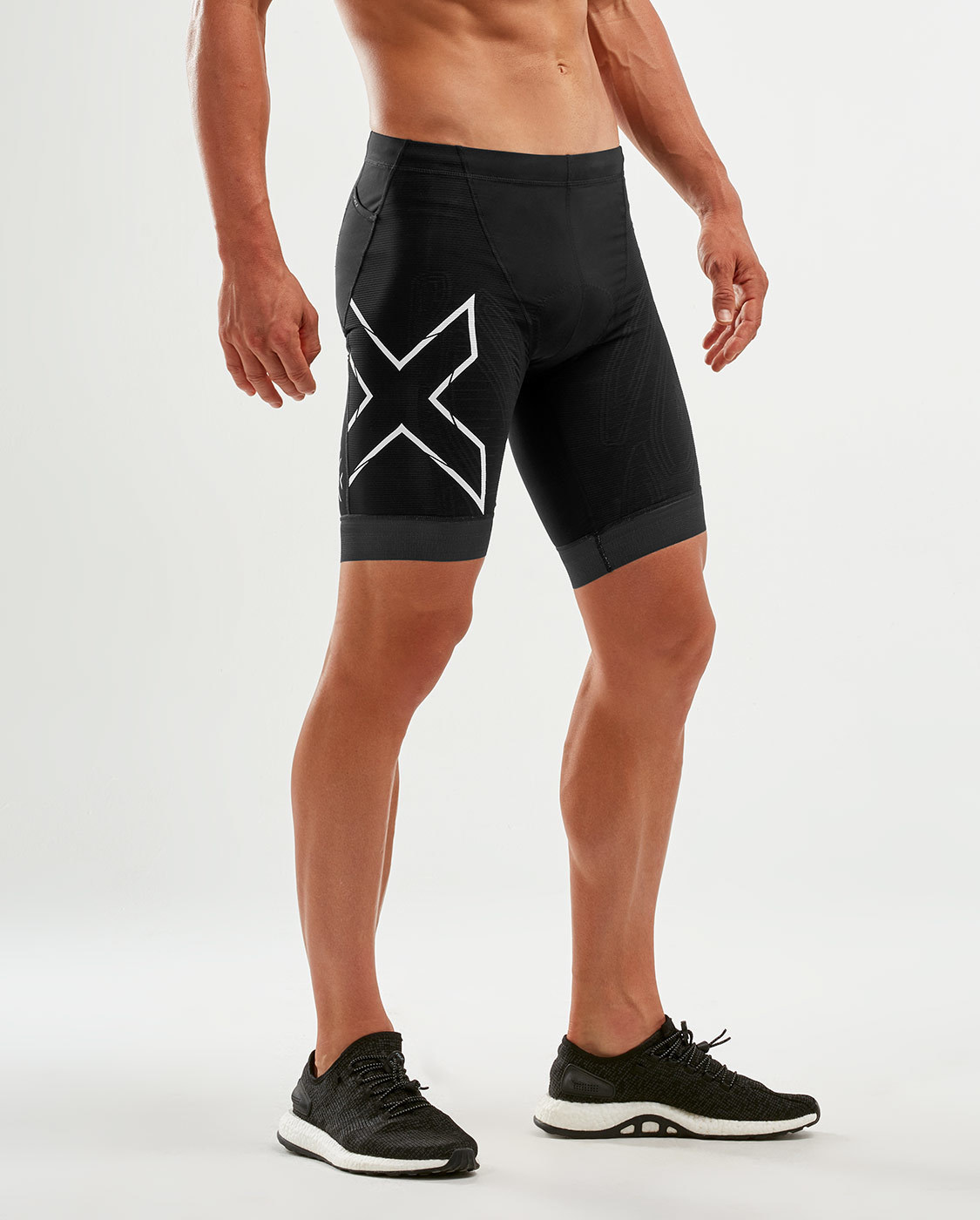 2XU 2XU Mens Compression Tri Shorts