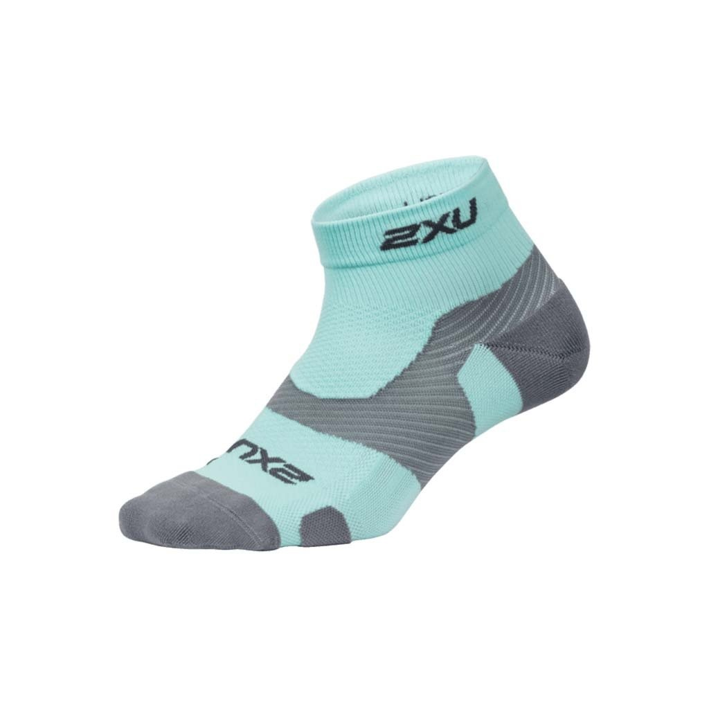 2XU 2XU VECTR Light Cushion 1/4 Compression Crew Socks