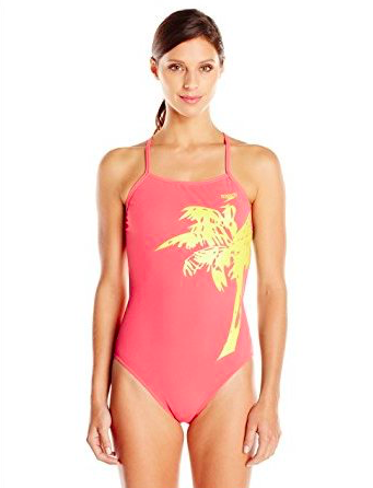 SPEEDO Speedo Womens Palmtree Suit